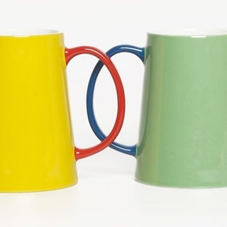 Jansen + co color pot - yellow + red