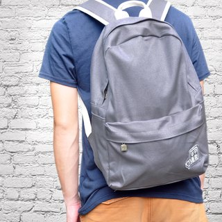 purely. Outing - After rucksack - plain backpack [Yinshu]