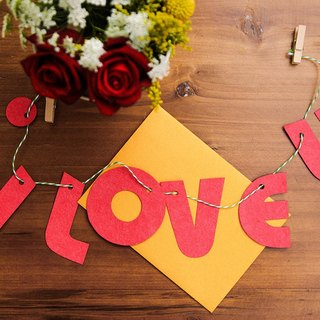 Valentine's Day I Love U Seed Paper Letter Card