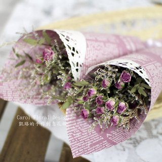 [Mini] bouquet dried roses - immortalized flower / dried flowers / jewelry bouquet / wedding bouquet bouquet / flower ceremony