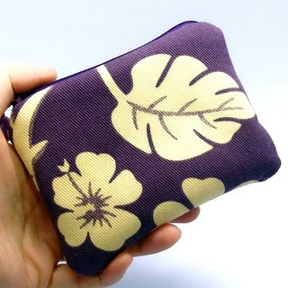 Zipper pouch / coin purse (padded) (ZS-27)