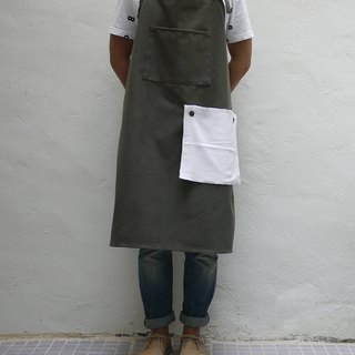 Canvas 01 Apron with Tea Towel