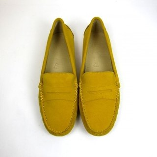 Fort Tony Wang handmade leather shoes (female) [frosted cow / bean bottom / yolk]