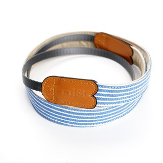 mi81 Neck strap Navyblue Strip