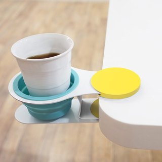 EX!! cup holder (yellow/blue)