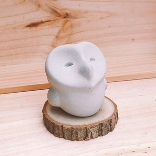 Smile / Owl Diffuser Stone or Paperweight
