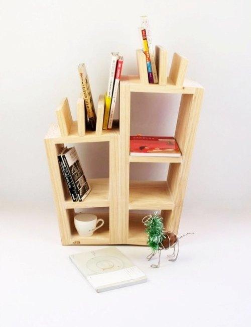 木匠兄妹設計款家具-蘿蔔書架