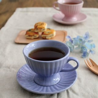 UK Price & amp; Kensington cups and saucers Group (lilac)