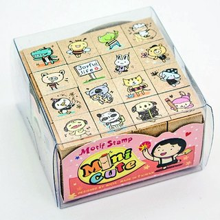 minicute stamp set - My Animal Friends