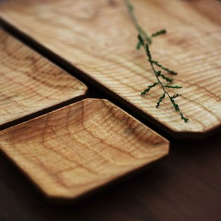 Utensils} {string • living hand-made cherry wood tray octagonal tray