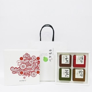 【Monga soap】 flower rich gift box - recycling soap + pearl soap + bitter gourd soap + safe soap - gifts / gifts / gifts / hand soap gift box / year gift box