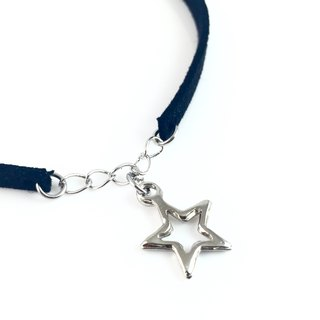 """Silver Star Silver Chain Necklace"""