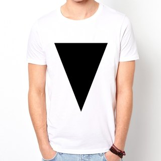 Inverted Prism B T-shirt -2 color triangle geometric fashion design cheap own brand