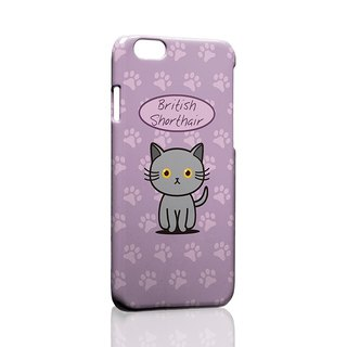 British Shorthair ordered Samsung S5 S6 S7 note4 note5 iPhone 5 5s 6 6s 6 plus 7 7 plus ASUS HTC m9 Sony LG g4 g5 v10 phone shell mobile phone sets phone shell phonecase