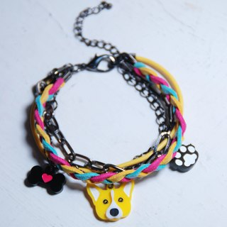 Mao child Corgi bracelet