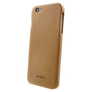OVERDIGI Mori iPhone6 ​​(S) plus all-natural beech wood protective shell