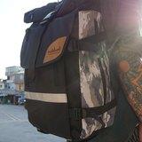 火柴木設計 Matchwood Rider 防水筆電後背包 17吋筆電夾層 雪地迷彩 後背包