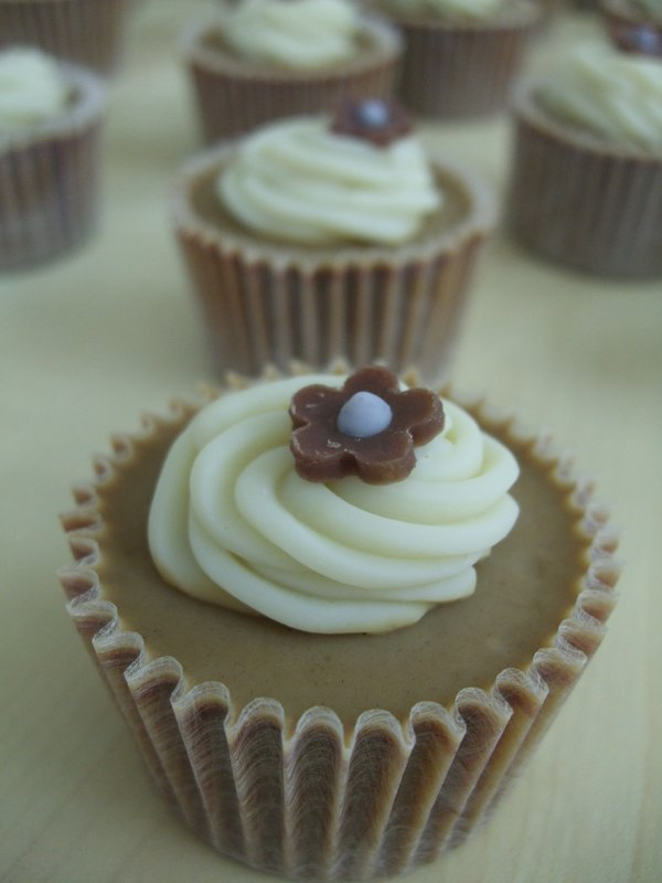 Chocolate cup cake (small) wedding small things / travel small soap / corporate gift