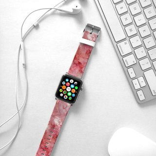 Apple Watch Series 1 , Series 2, Series 3 - Pink Marble Pattern Watch Strap Band for Apple Watch / Apple Watch Sport - 38 mm / 42 mm avilable