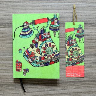 【Hardcover agenda】-Telephone