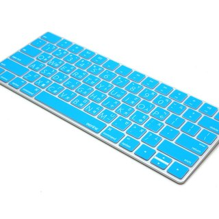 BEFINE Apple Magic Keyboard wireless keyboard protective film dedicated Chinese - blue and white (8809402591046)