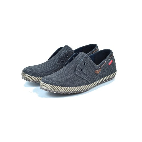 【Dogyball】JB6 Palm - Men's Slip-On Loafers - Black