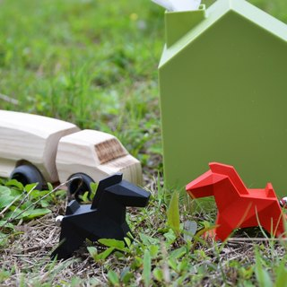Origami Zoo ZOORIGAMI Valentine 's Day limited combination (red + black) limited to 10 groups