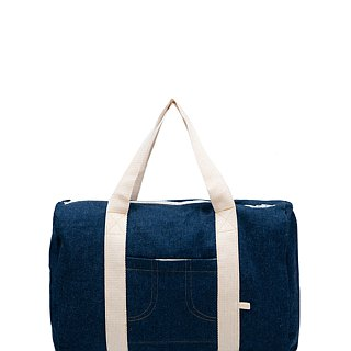 DARK JEANS DRUFFLE BAG