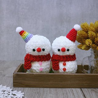 snowman. Christmas gift. Exchange gifts