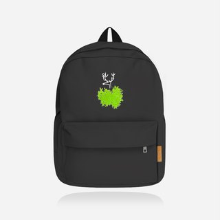 [Remembrance Day Gift] Sometimes hidden is hope to be discovered - big black canvas backpack