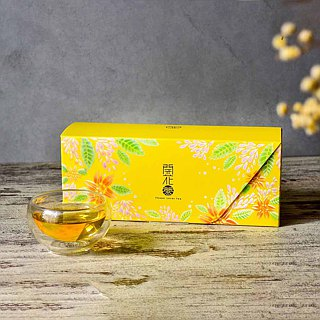 Flower Lover Tea - Jasmine Bloming Tea - 3 pcs set(Vacuum packaging) .