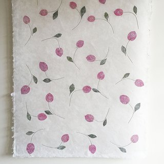 [New] Handmade (Thin) Wrapping Paper - Dancing Petals Dancing Petals