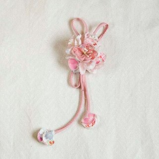 [MITHX] cherry color, color dance celebration, a small side clip brooch, styling hair accessories - powder