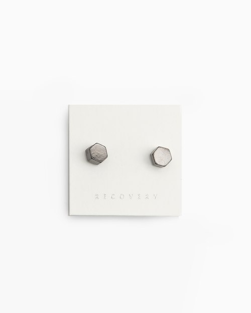 Recovery 2015 Hexagon Earring 六角耳環