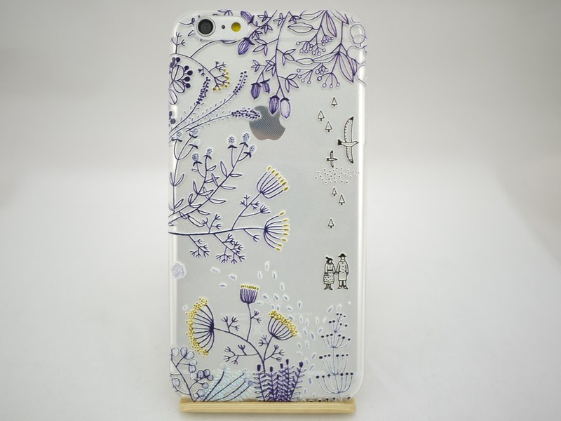 "Hand-painted Love series - leave - Suli card Zulieca Wu ""iPhone / Samsung / HTC / LG / Sony / millet / OPPO"" TPU phone case"