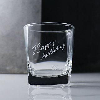 295cc can be customized lettering [PUB] your special cup engraved WordArt oblique side. Square Hand-painted lettering whiskey cup birthday gifts