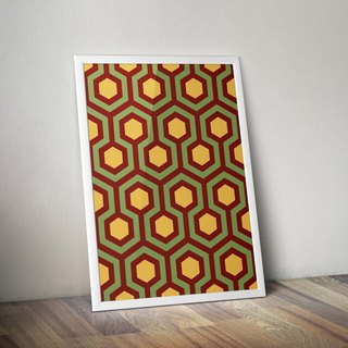 Vintage Posters _ hexagonal geometry