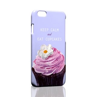 Keep Calm & eat Cupcake ordered Samsung S5 S6 S7 note4 note5 iPhone 5 5s 6 6s 6 plus 7 7 plus ASUS HTC m9 Sony LG g4 g5 v10 phone shell mobile phone sets phone shell phonecase