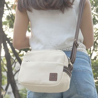 Unprinted style cross-body bag - high-pound canvas manufacturing