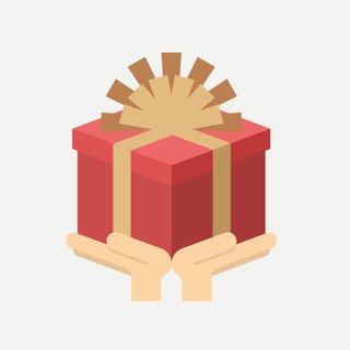 Purchase of goods - gifts with a small mention box (with ribbon and card) does not contain plant gifts