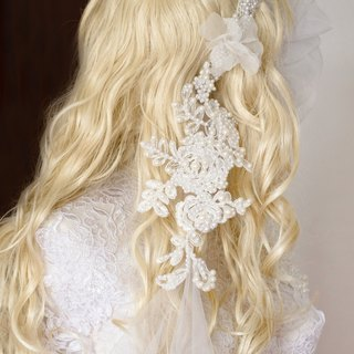Pearl Sea - Mermaid Veil - 300cm long / Sally F.Li advanced custom wedding / wedding veil