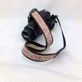 Camera strap can print personalized custom leather stitching national wind embroidery pattern 021