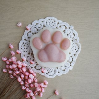 Shea Butter Cat Paw Soap (For Body) - Peach