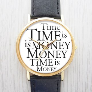 Time is money - women's watch / men's watch / neutral watch / accessories [Special U Design]