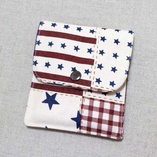 Little secret little thing packs - American retro stars stripes flag bag
