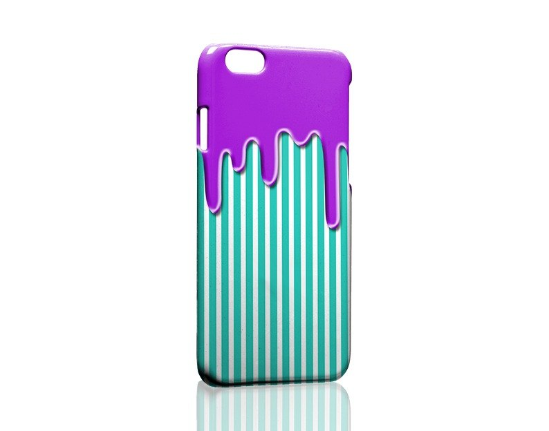 Dissolved! Purplish blue striped custom Samsung S5 S6 S7 note4 note5 iPhone 5 5s 6 6s 6 plus 7 7 plus ASUS HTC m9 Sony LG g4 g5 v10 phone shell mobile phone sets phone shell phonecase