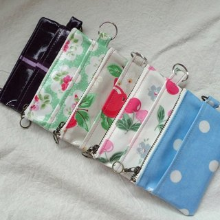 Cath Kidston style keys and wallets