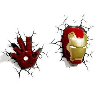 3D Light FX - Marvel Series Iron Man Set - 3D立體造型燈 鋼鐵人 組合