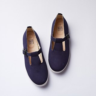 hanamikoji shoes Comfortable Casual Flat Shoes Mary Janes Shoes Blue Woman Girl