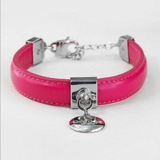 [CHIC DOG] dual-use collar eternal leather collar leather collar collar ((send lettering))